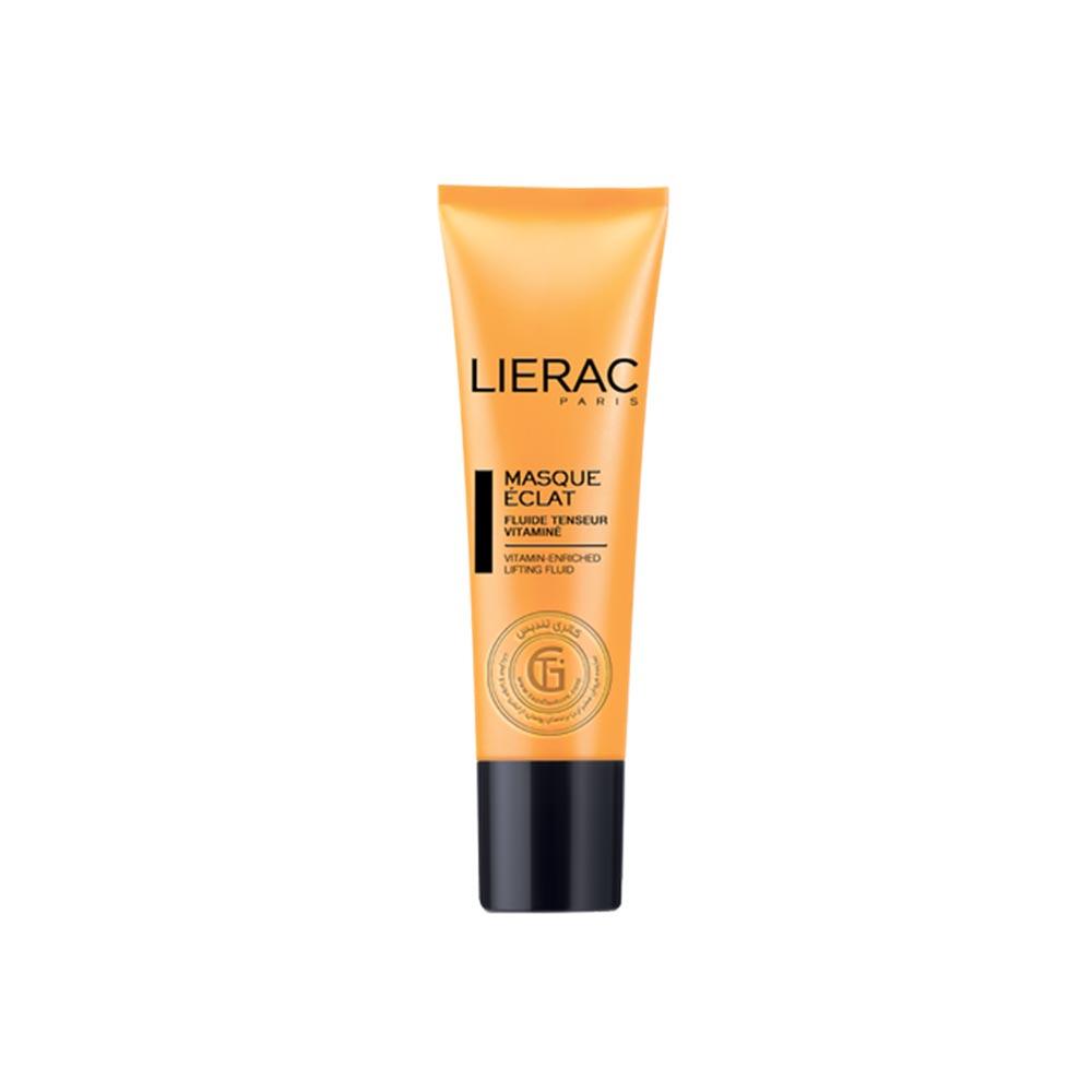 ماسك راديانس لیراک غنی از ویتامین برای افزایش شفافیت پوست این ژل کرم نارنجی رنگ و سبک حاوی خاک رس زرد همراه با عوامل لیفتینگ، عصاره پرتقال خونی و کوکنار است