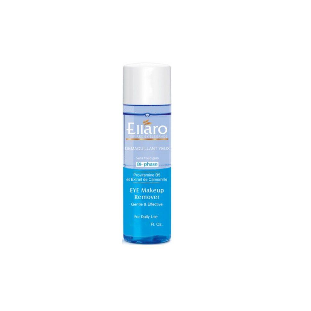 پاک کننده ملایم آرایش چشم دوفاز الارو ضدالتهاب و تسکین دهنده٬ بازسازی کننده پوست برسان و مرطوب کننده قوی٬ حفظ رطوبت طبیعی پوست