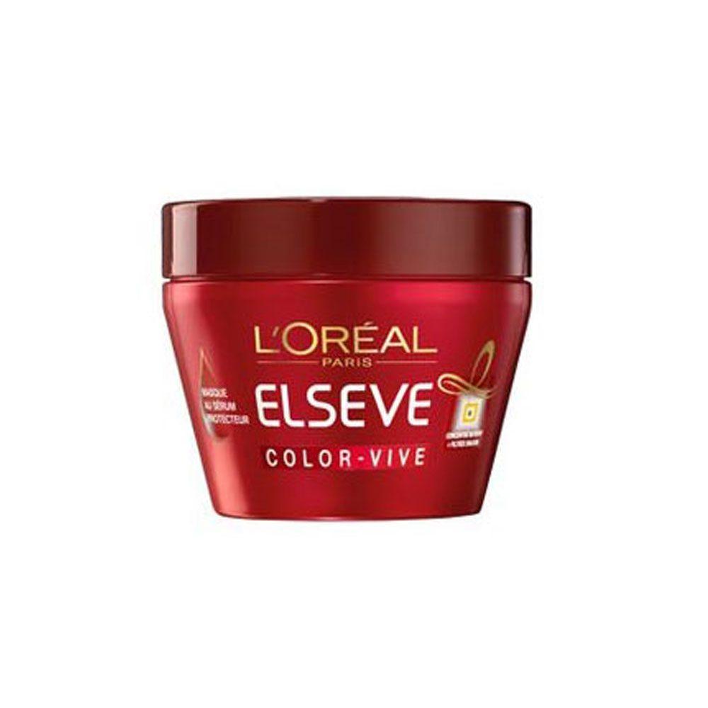 ماسک مو تقویت کننده و محافظ موی رنگ شده لورآل تقویت کننده و محافظ موی رنگ شده، درخشان کننده رنگ دانه های مو، نرم کننده و براق کننده موها، محافظت از رنگ مو
