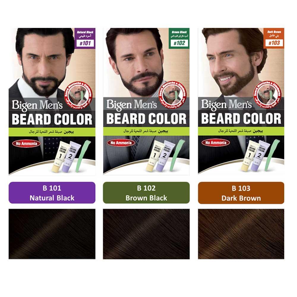 بیگن کیت رنگ ریش و سبیل ( دارای رنگ بندی )