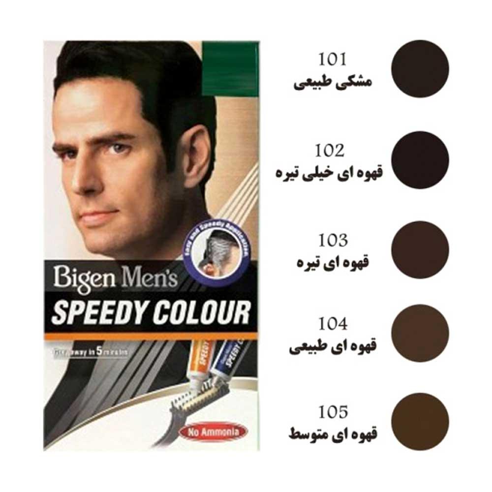 بیگن کیت رنگ مو سریع مردانه ( دارای رنگ بندی)