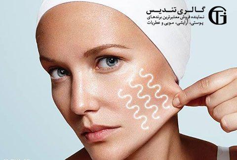 جلوگیری از شل شدن پوست